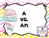 A vs. An