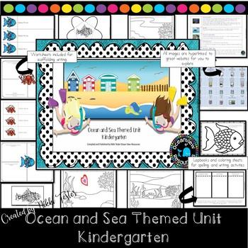 Kindergarten - Sea Themed Cross Curricular Unit