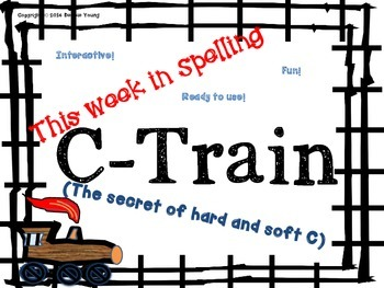 A week in Spelling Hard and Soft C