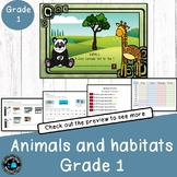Animals a complete unit of work for grade 1