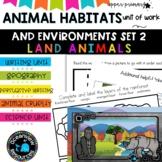 Animals and Environments unit Grade 6