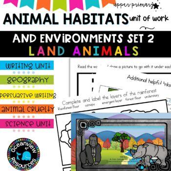 Year 6-Animal Themed Cross Curricular Unit