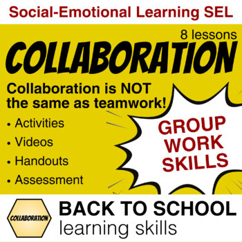 Teach students HOW to collaborate with a Growth Mindset (21st century skills)