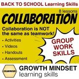 Group Work Collaboration Lessons ⭐Homeroom Advisory Life S