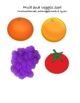 A week of Fruit and Veggie lesson plans for preschool.