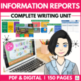 Information Report Writing Unit - DISTANCE LEARNING