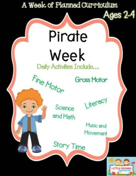 A week of Pirate lesson plan