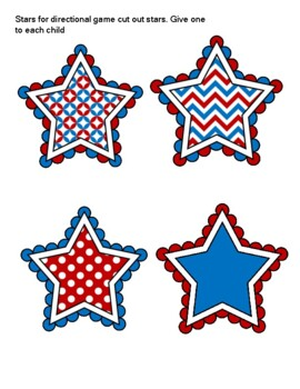 A week of Stars and Stripes(4th of July) Lesson plan