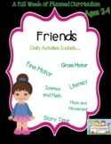 Preschool Lesson Plan Ideas for Thanksgiving with Daily Preschool Activities