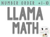 A whole LLAMA fun! Number Ordering 1-10