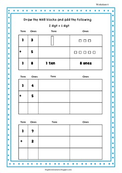 Addition - Place Value Strategies Workbook