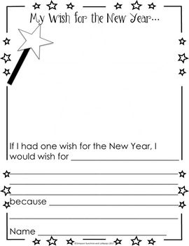 Writing : A Writing Activity to Ecourage the Spirit of Giving & a New Year Wish