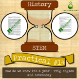 A year already? - History of STEM practicals - Trig, Angles + Astronomy