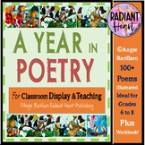 A year in poetry 100 Poems for display and Workbook Grades