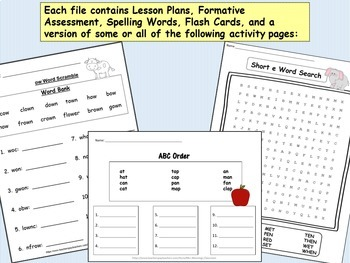1st Grade ELA Lesson Plans, Activities & Word Work WHOLE YEAR Mega Bundle!