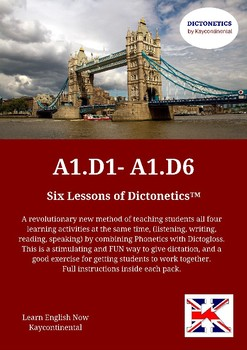A1.D1 to A1.D6 - Six lessons of Dictonetics.