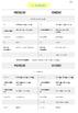 FICHAS ELE | A1 | El sustantivo: género y número