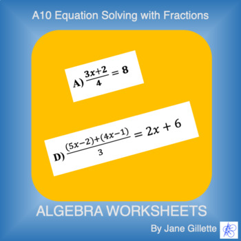 A10 Equation Solving with Fractions