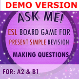 DEMO [board game] A2, B1 ESL adults PRESENT SIMPLE questio