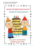 A2 EFL/ ESL Lesson Plan – Tenses For Future Actions (Review) – Special Events