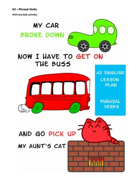 A2 Lower Intermediate English Lesson Plan - Phrasal Verbs - Daily Activities