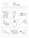 A2Me Preschool Sample Pack!  Introducing: Letter A, Number