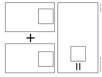 A3 Addition & Subtraction Mats