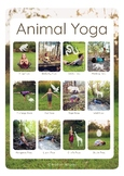A3 Animal Yoga Poster With REAL children