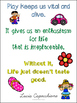 A3 Learning through Play Posters for Early Years classrooms