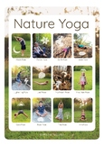 A3 Nature Yoga Poster with REAL children!