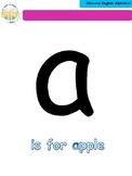 A4 Alphabet Flashcards