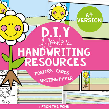A4 Handwriting Resources DIY Pack