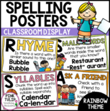 Spelling Strategy Posters - Classroom Decor