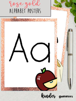 A4 size Alphabet Posters