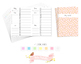A5 Daily Schedule by Hour Traveler Notebook Refill