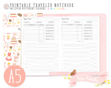 A5 My Recipe Traveler Notebook Refill