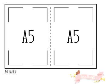 A5 Password Log Traveler Notebook Refill