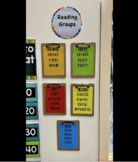 A5 Reading Groups Display (Editable)