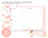A6 Dated Notes Traveler Notebook Refill