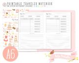 A6 My Recipe Traveler Notebook Refill