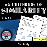 AA Criterion of Similarity Worksheet