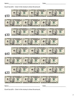 AAA ES M. 5.1 Com. 3 or 4 Money
