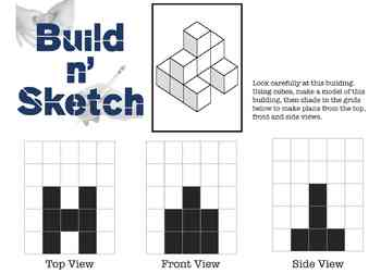 3-Dimensional Construction Challenges - Build 'n Sketch 11 Challenges