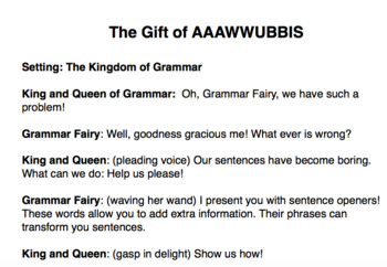AAAWWUBBIS-Dependent Clauses