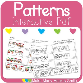 AABB Patterns Christmas Faces Interactive Pdf