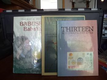 AABUSHKA  THIRTEEN WINTER TALES    (SET OF 3)