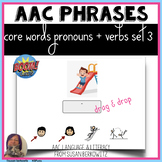 AAC 2 Core Word Pronoun Verb Phrases  BOOM Activity distan