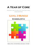 AAC A Year of Core Level 3 Bundle: SYMBOLSTIX - Word of th
