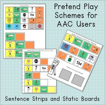AAC Activities for Doctor Dramatic Play: Speech Therapy