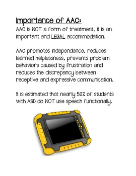 AAC Advocacy